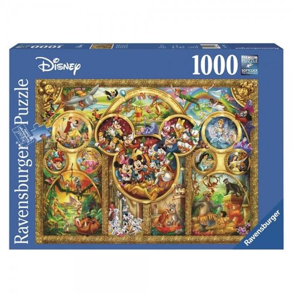 RAVENSBURGER 1000 Teile Puzzle Die schönsten Disney Themen