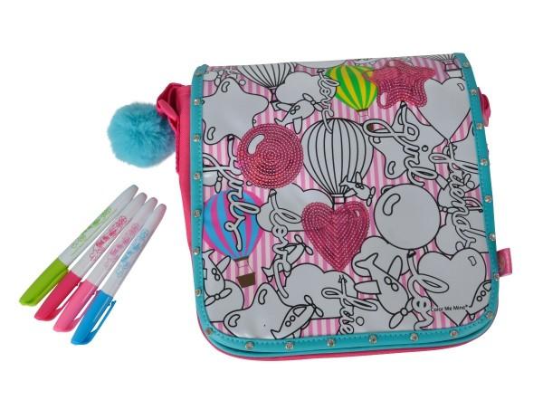 Color me mine Glitter Couture Messenger Tasche