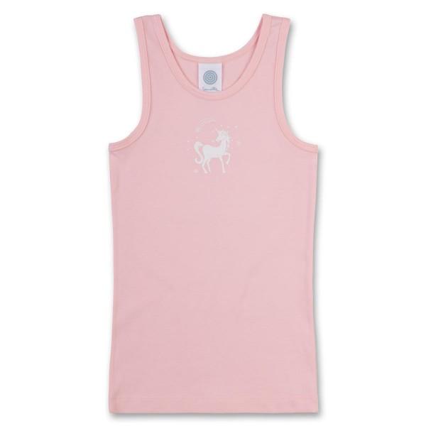 Sanetta Mädchen Unterhemd Einhorn rosa Gr. 92 - 140