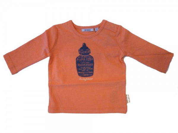 MEXX - Baby Langarmshirt georgia peach - Mädchen Gr. 56 - 68