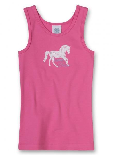 Sanetta Mädchen Unterhemd Pusteblume rosa