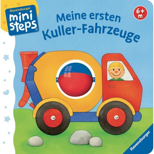 Ravensburger ministeps Buch Meine ersten Kuller-Fahrzeuge