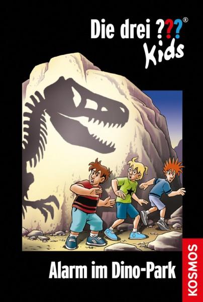 KOSMOS Die drei ??? Kids Buch, 61, Alarm im Dino-Park