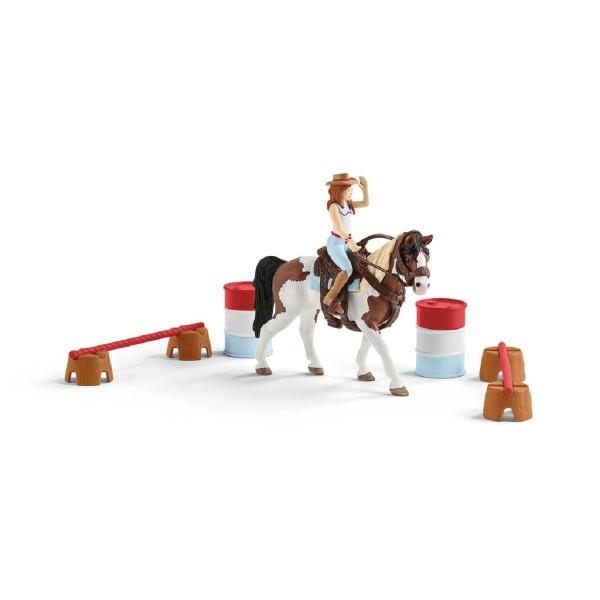Schleich Spielset Horse Club Hannahs Western-Reitset