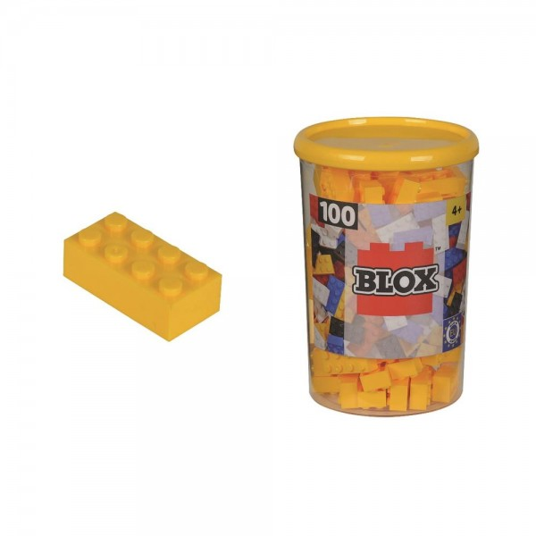 Simba Blox 100 gelbe Steine in der Dose