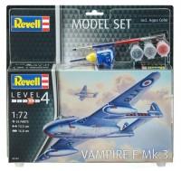 Revell Model Set Flugzeug Vampire F Mk.3 1:72