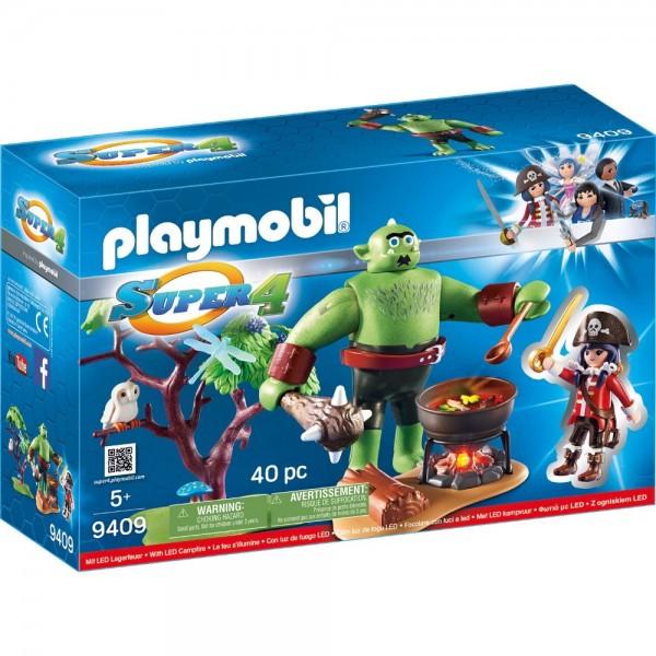 Playmobil® SUPER4 Riesen-Oger mit Ruby 9409