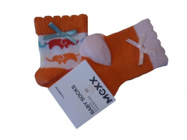 MEXX - Baby 2er-Pack Socken aruba blue für Mädchen