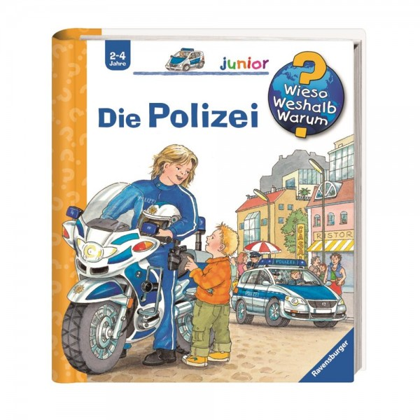Ravensburger Wieso Weshalb Warum? Junior Die Polizei (Band 18)