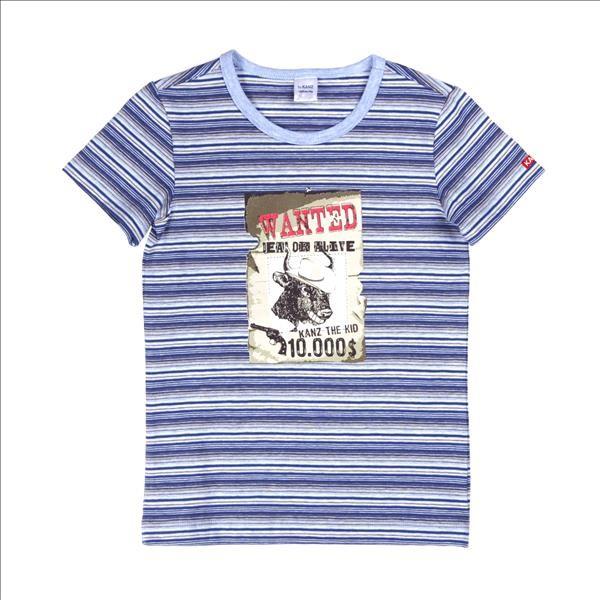 KANZ Jungen Untershirt Cowboy 92 - 140