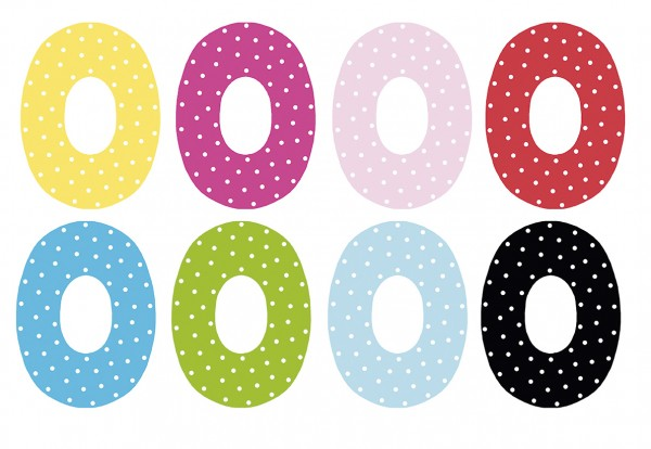 JaBaDaBaDo Kinderzimmer Buchstabe O (Farbauswahl)