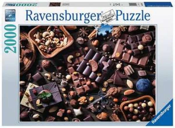 Ravensburger Puzzle 2000 Teile Schokoladenparadies