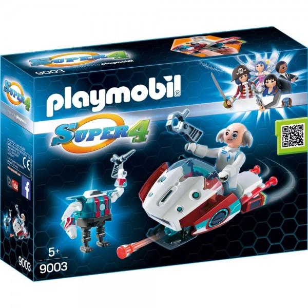 Playmobil® SUPER4 Skyjet mit Dr X & Roboter 9003