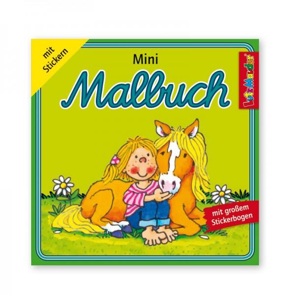 Lutz Mauder Mini-Malbuch Mein Ponyhof