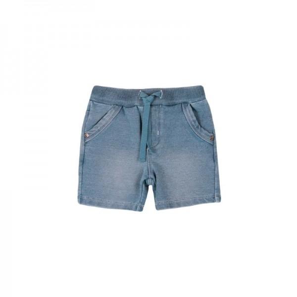 Bóboli Jungen Shorts demin blau Gr. 68 - 92