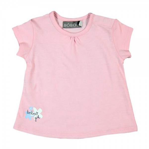 Bóboli Mädchen T-Shirt rosa Gr. 62 - 92