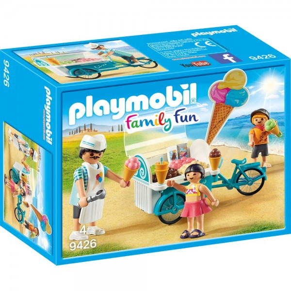 Playmobil® Family Fun Fahrrad mit Eiswagen 9426