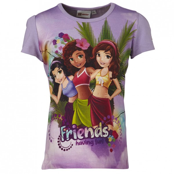LEGO WEAR Mädchen T-Shirt LEGO FRIENDS Theodora 308 Gr. 104 - 152