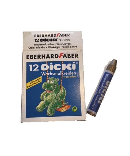 Eberhard Faber DICKI Wachsmalstifte metallic-gold 12er Set