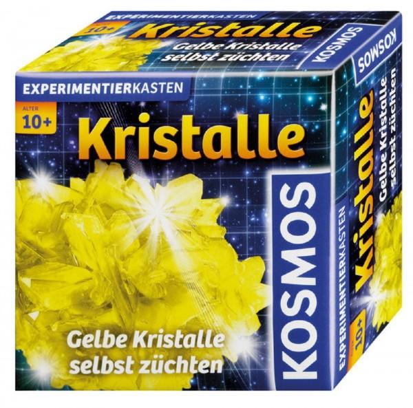 KOSMOS Mitbringexperimentierkasten - Kristalle gelb