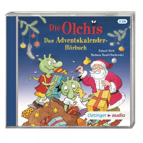 Die Olchis. Das Adventskalender-Hörbuch (2 CD)