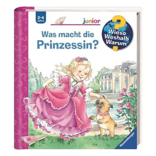 Ravensburger Kinder Buch Wieso Weshalb Warum? Junior Was macht die Prinzessin?