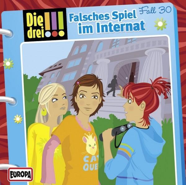 KOSMOS CD Die drei !!! 30 Falsches Spiel im Internat