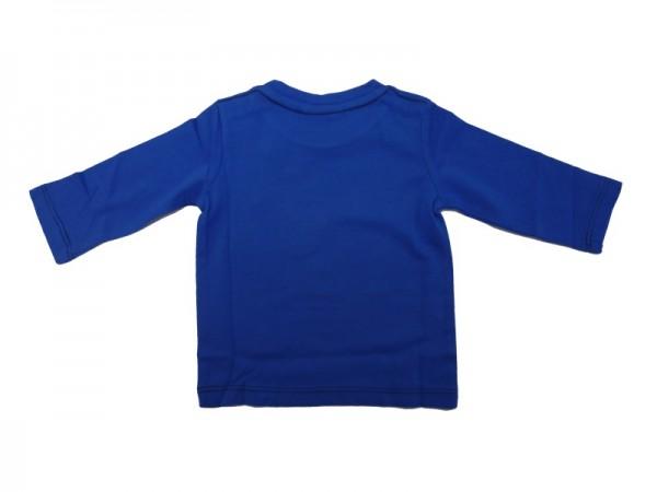 MEXX Jungen Baby Langarmshirt stream blue Gr. 56 - 68
