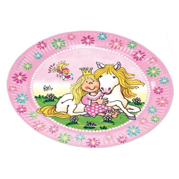 Lutz Mauder Kindergeburtstag Partyteller Prinzessin Miabella