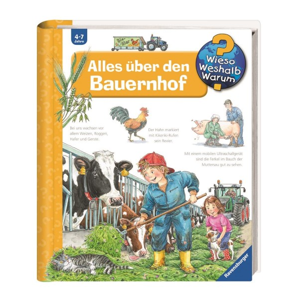 Ravensburger Wieso Weshalb Warum? Alles über den Bauernhof (Band 3)