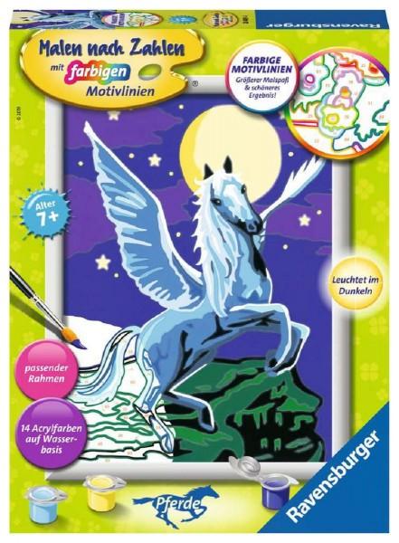 Ravensburger Malen nach Zahlen Malset Pegasus im Mondschein