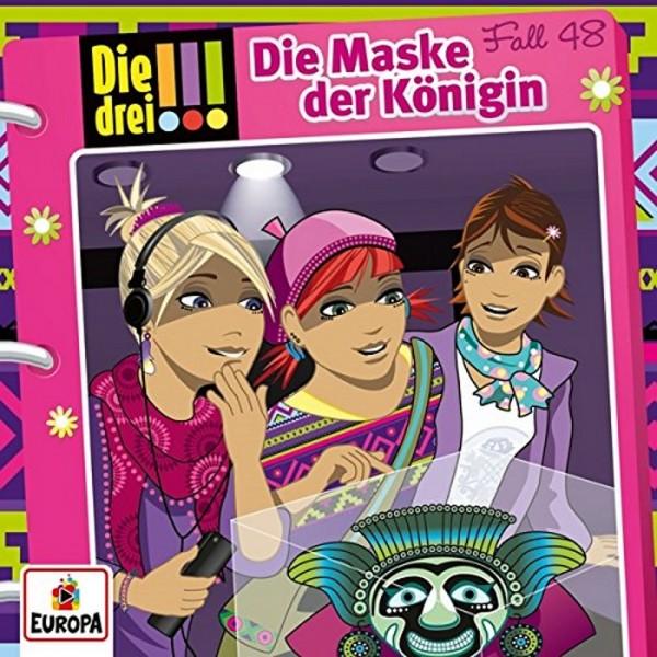 Kinder-CD Die drei !!! Fall 48 Die Maske der Königin