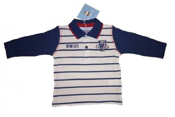RIVER WOODS Jungen Kinder Langarm-Rugby-Shirt Gr. 74 - 104