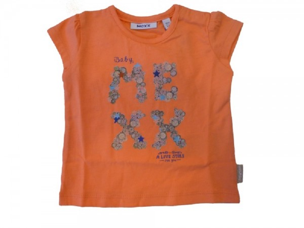 MEXX Jungen Baby T-Shirt orange Gr. 56 - 68