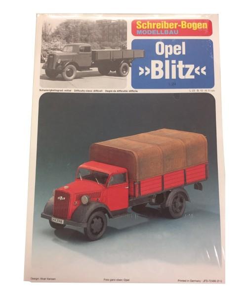 Schreiber-Bogen Kartonmodellbau Opel Blitz
