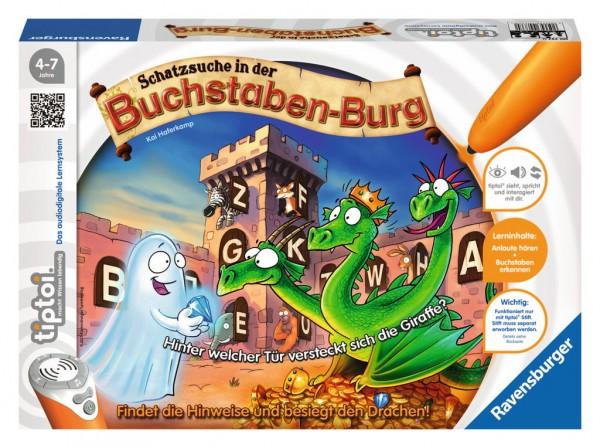 Ravensburger tiptoi® Spiel Schatzsuche in der Buchstabenburg