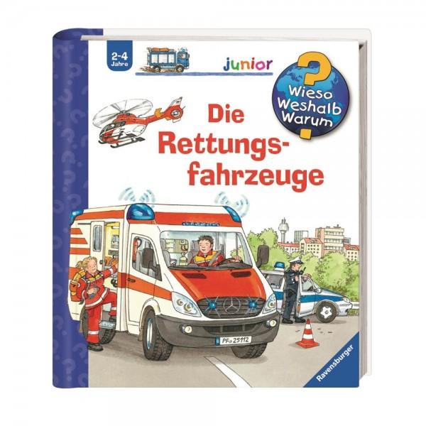 Ravensburger Wieso Weshalb Warum?Junior Die Rettungsfahrzeuge(Band 23)