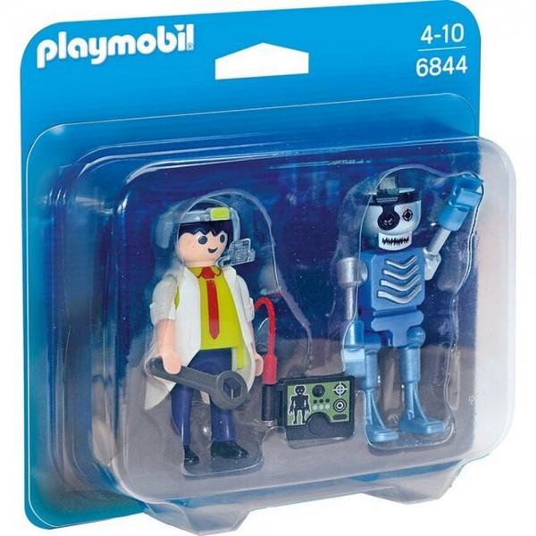 Playmobil® Duo Pack Professor und Roboter 6844
