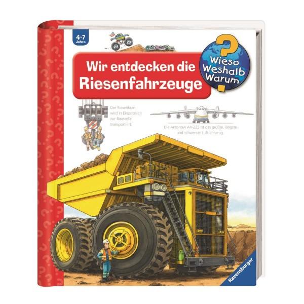 Ravensburger Wieso Weshalb Warum? Wir entdecken die Riesenfahrzeuge (Band 6)