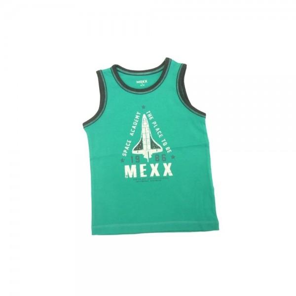 MEXX Jungen Kinder Unterhemd blue grass Gr. 98 - 152