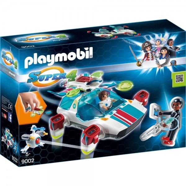 Playmobil® SUPER4 FulguriX mit Agent Gene 9002