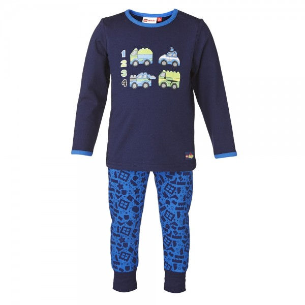 Lego Wear Jungen Kinder Schlafanzug Lego Duplo Nis 701 Gr. 74 - 104
