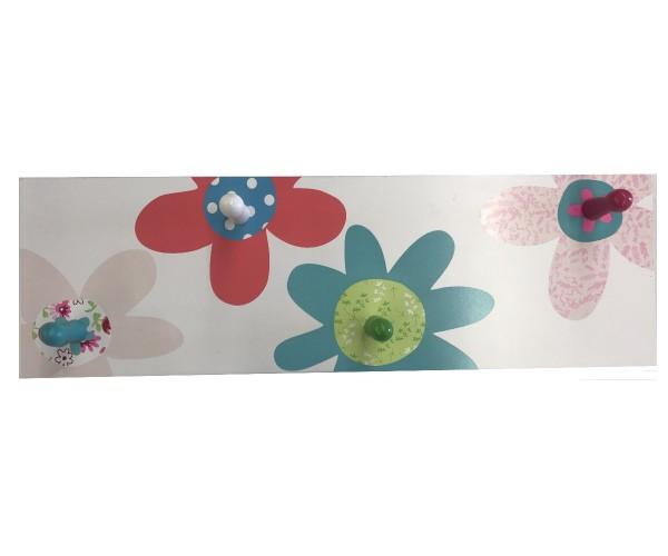 TRÄ PRESENT Kinder Garderobe Blumen