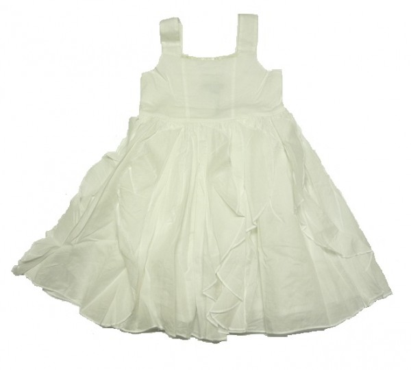 MEXX - festliches Kinder Träger-Kleid weiß Gr. 110 - 128