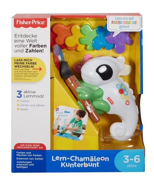 Fisher-Price Lern-Chamäleon Kunterbunt