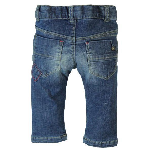 Bóboli Jungen Jeans blau gefüttert Gr. 74 - 92