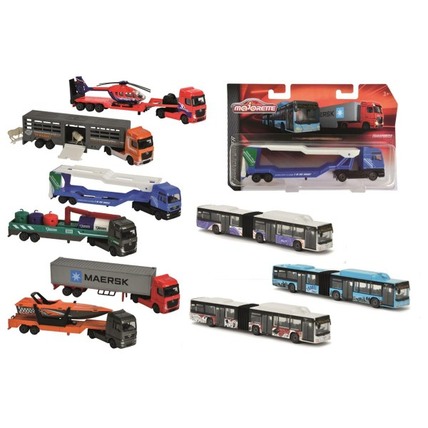 Majorette Transporter Fahrzeug