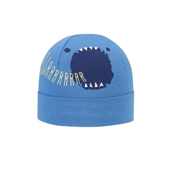 Döll Jungen Topfmütze Monster blau