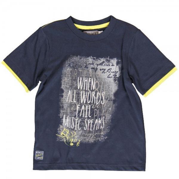 Bóboli Jungen Kinder T-Shirt dunkelblau Gr. 110 - 164