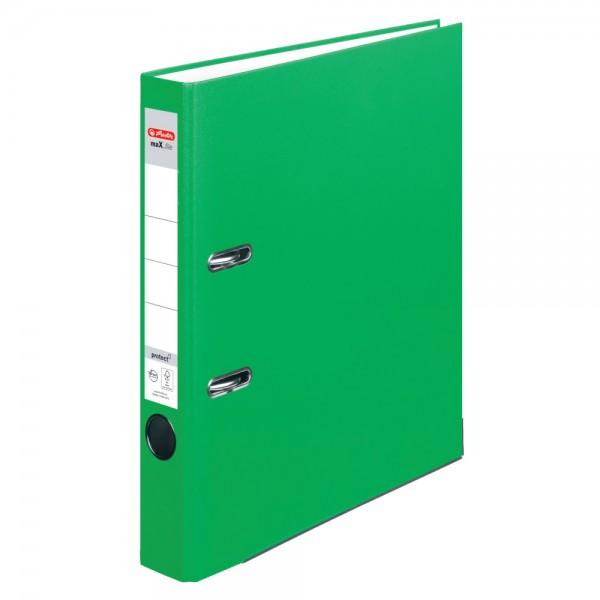 A4 Ordner maX.file protect hellgrün 5cm